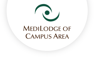 Medilodge of campus area web logo